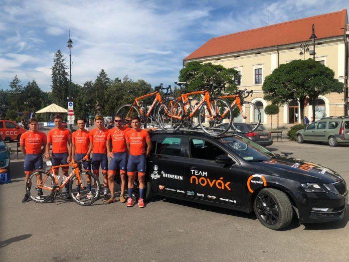 Team Novak la start in Turul Ungariei! Singura echipa cu 3 paralimpici in competitie