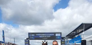 Emil Dima a fost singurul reprezentant al Romaniei la Europeanul de Sosea la Elite