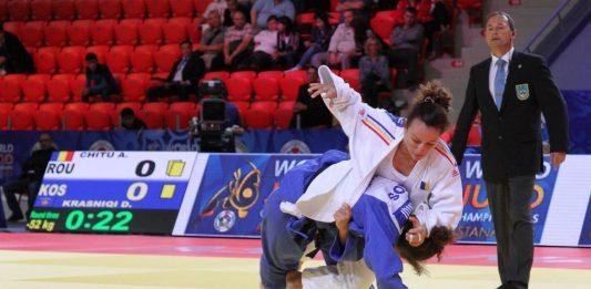 Andreea Chitu e din nou pe podium la judo. Reusita in Ungaria