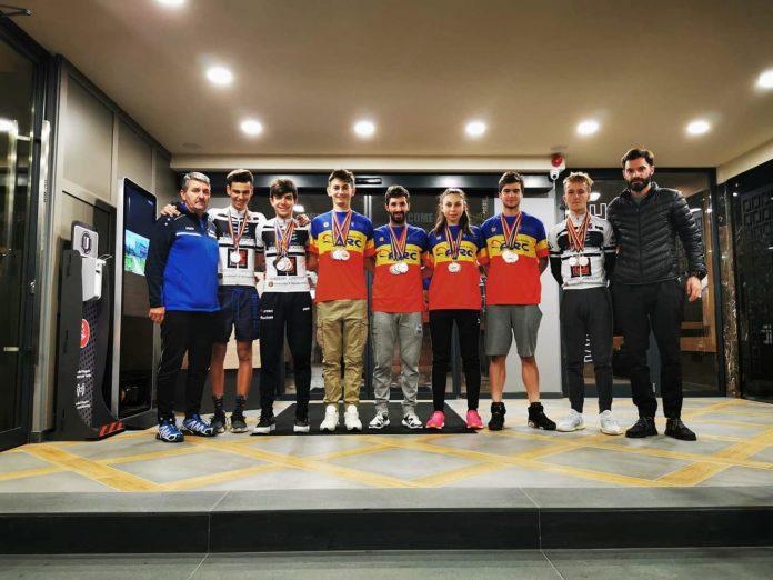 Eduard Grosu a castigat 7 medalii la Campionatele Nationale de Velodrom!