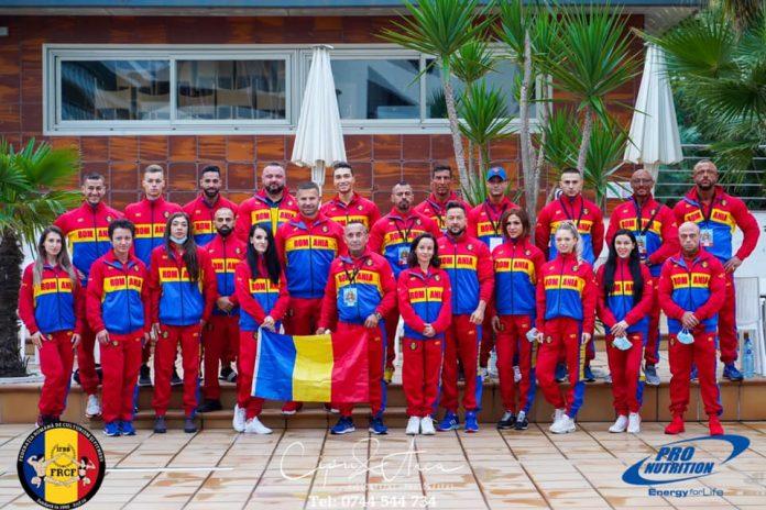 Medalii pentru Romania la Campionatul Mondial de Culturism si Fitness din Santa Susanna, Spania!