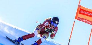 Ania Caill termină o cursă cu sportive accidentate la Val d'Isere (Franţa)