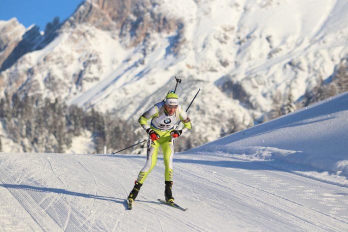 Evolutia biatlonistului George Buta, campion la schi role, la start in 2021.