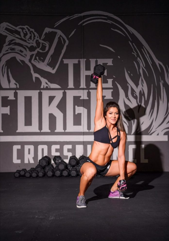 Alexandra Ioana Ojog are un palmares remarcabil este Fitness Woman in Romania