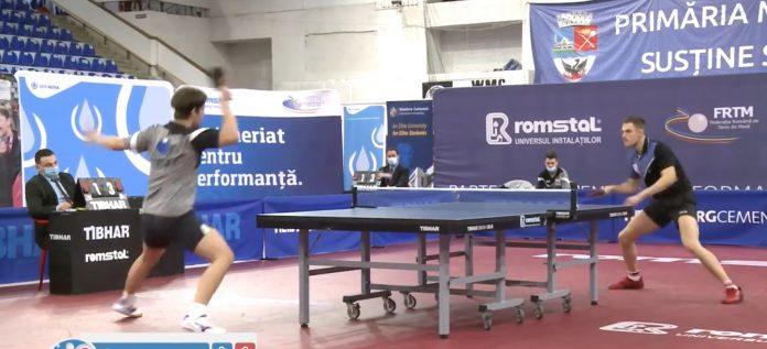 Ovidiu Ionescu domină Naționalele de Tenis de Masă.Două titluri are și Bernie Szocs