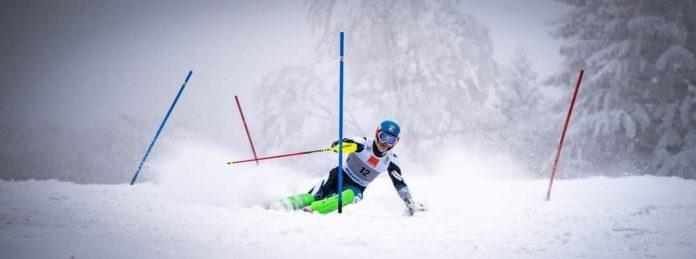 A opta cursa internationala de schi alpin pentru Stefanescu in 2021.
