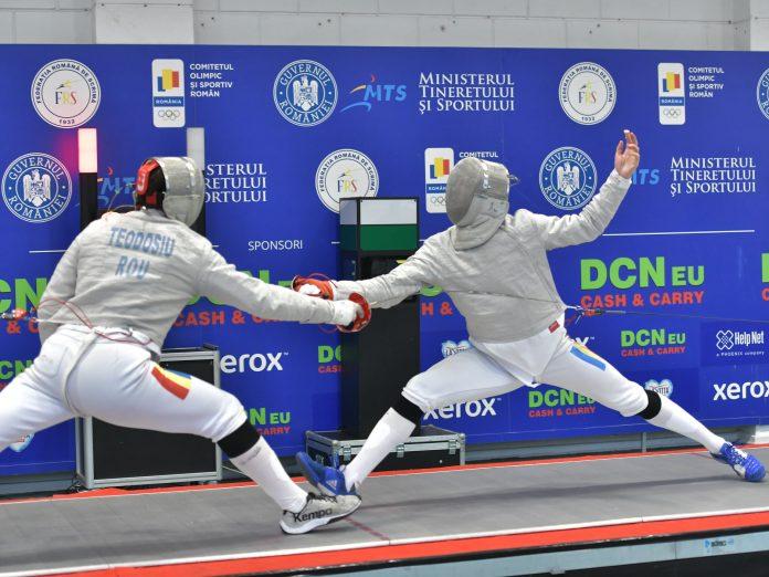 Alin Badea a câştigat titlul de campion naţional la sabie, la individual