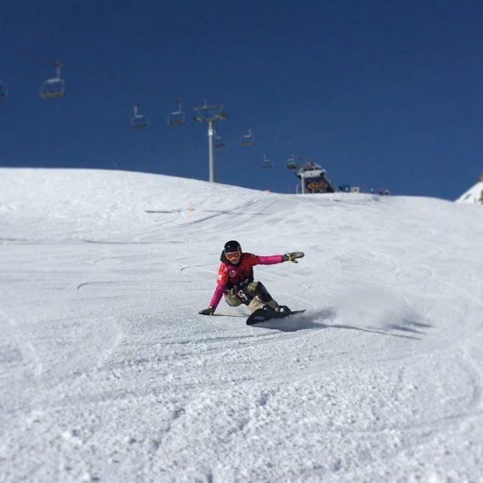 Victorii consecutive pentru Dana Popescu Seleusan la snowboard international