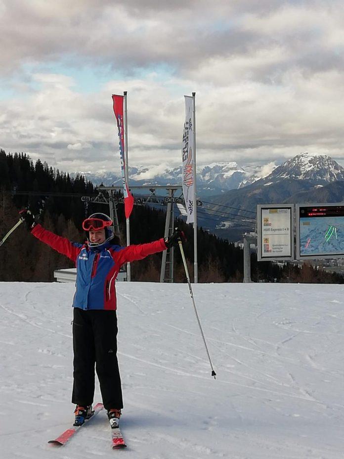 Jennifer Nagy castiga la Toplita după locul 3 la FIS Children Trophy