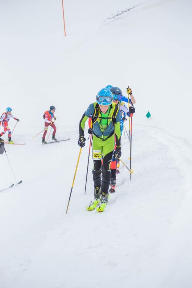 George Jinga are cel mai bun loc al României la Mondialele de Schi Alpinism 2021