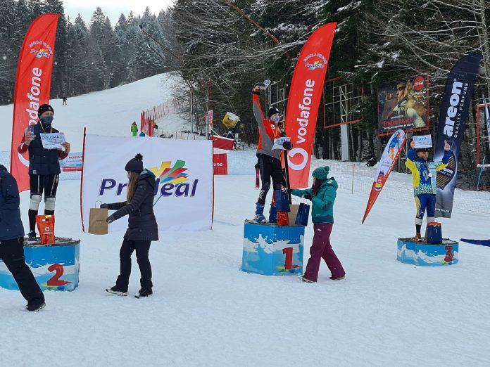 Câștigători la naționalele de schi alpin. Diana Eremia se impune la sub 16 ani