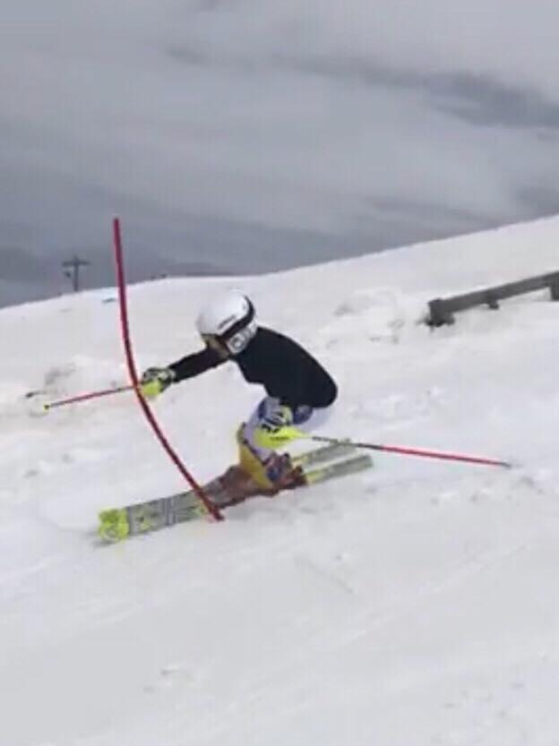 David Tudor și Alessia Fuchs câștigă la slalom titlul național la U16