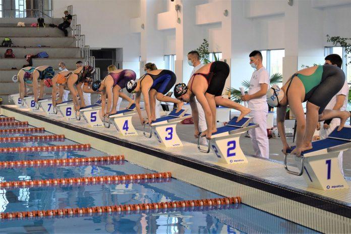 Prima zi de întreceri pentru Cupa României la natație.Cei mai buni timpi!