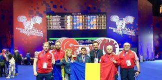 Monica Csengeri a câștigat 3 medalii de aur, la Campionatele Europene de haltere