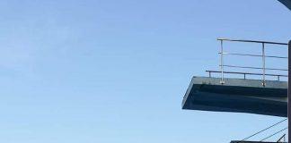 Alexandru Avasiloae se pregătește pentru săriturile de la mare înălțime