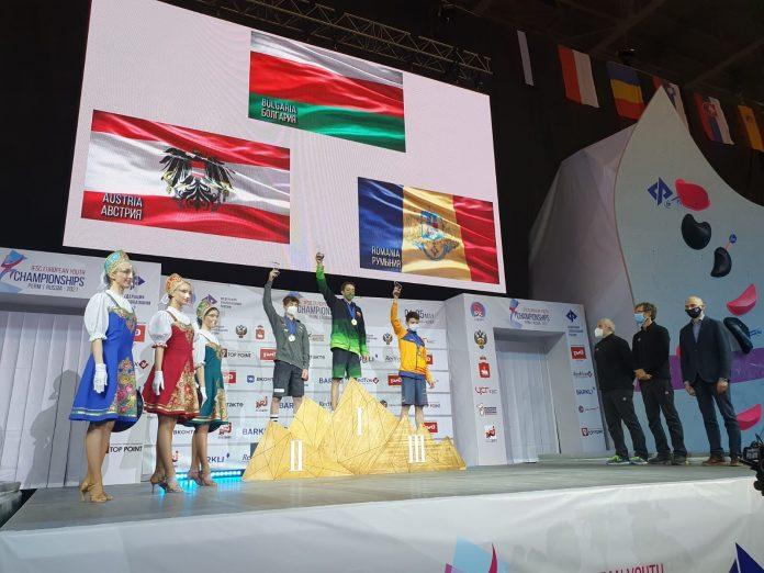 Prima medalie a României la Escaladă! Darius Râpă se remarcă la Bouldering!