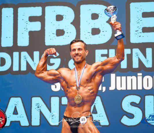 Aur pentru România la Men`s Classic Bodybuilding. Bogdan Văipan este campion