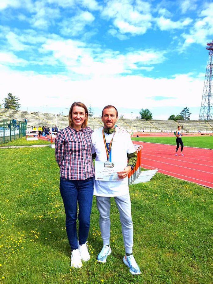 Nicolae Soare și antrenoarea Cristina Ioana Alexe obțin un nou titlu național