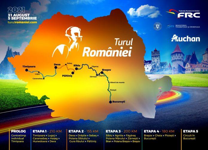 Un traseu nou pentru Turul României, evidențiază monumente istorice ale României!