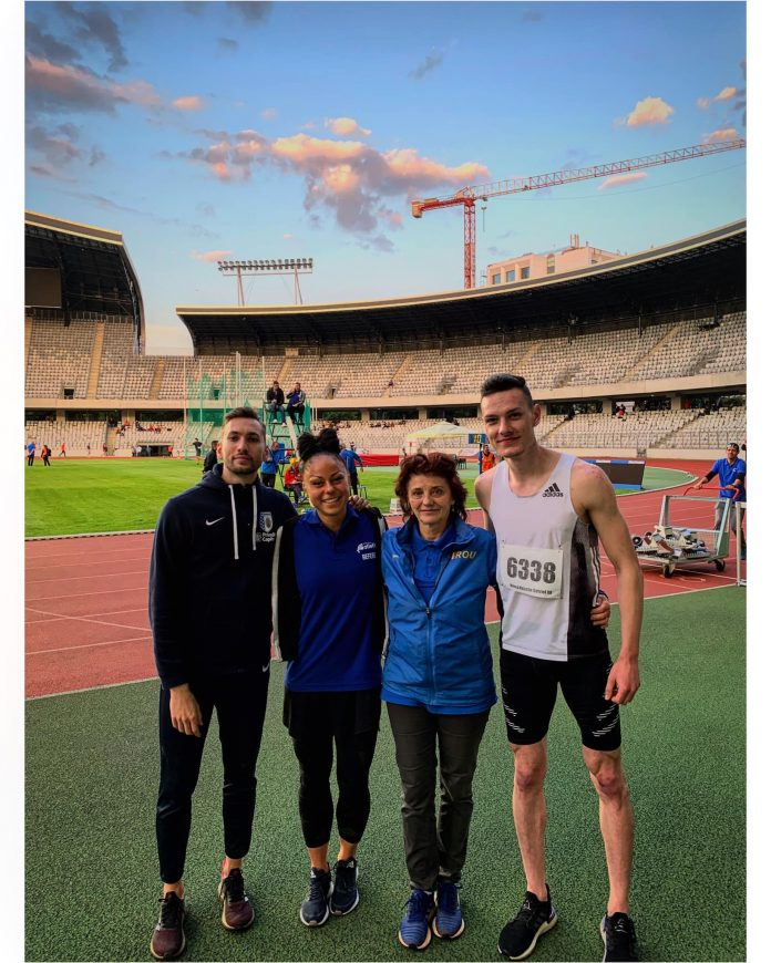 Robert Parge este cel mai rapid român pe distanța de 400 de metri!