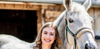 Daria Paliciuc revine în concursurile internaționale de dresaj.