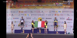 Eduard Grosu și Emil Dima sunt cicliștii români remarcați la Turul Sibiului