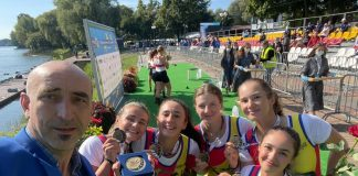 România s-a clasat pe 1 în clasamentul de la Europenele de canotaj Under-23