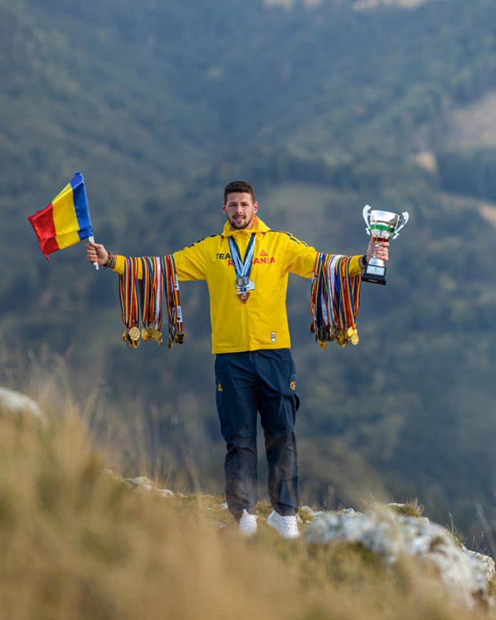 Suceveanul Sergiu Vasile Bejan are 10 ani de carieră. Performanță în canotaj!